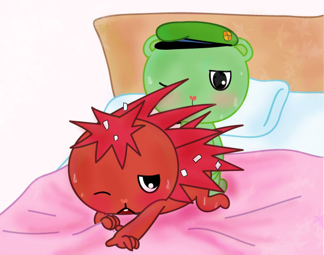 and flippy friends happy flaky tree anime Star and the forces of evil toffee