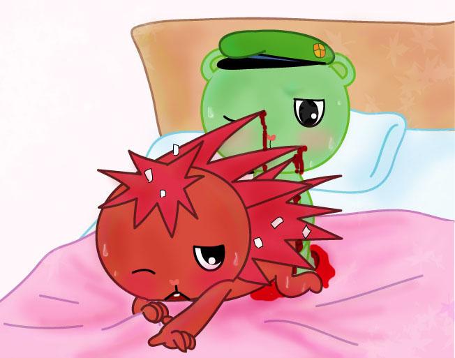friends flippy and flaky happy tree anime Villainous black hat x dr flug
