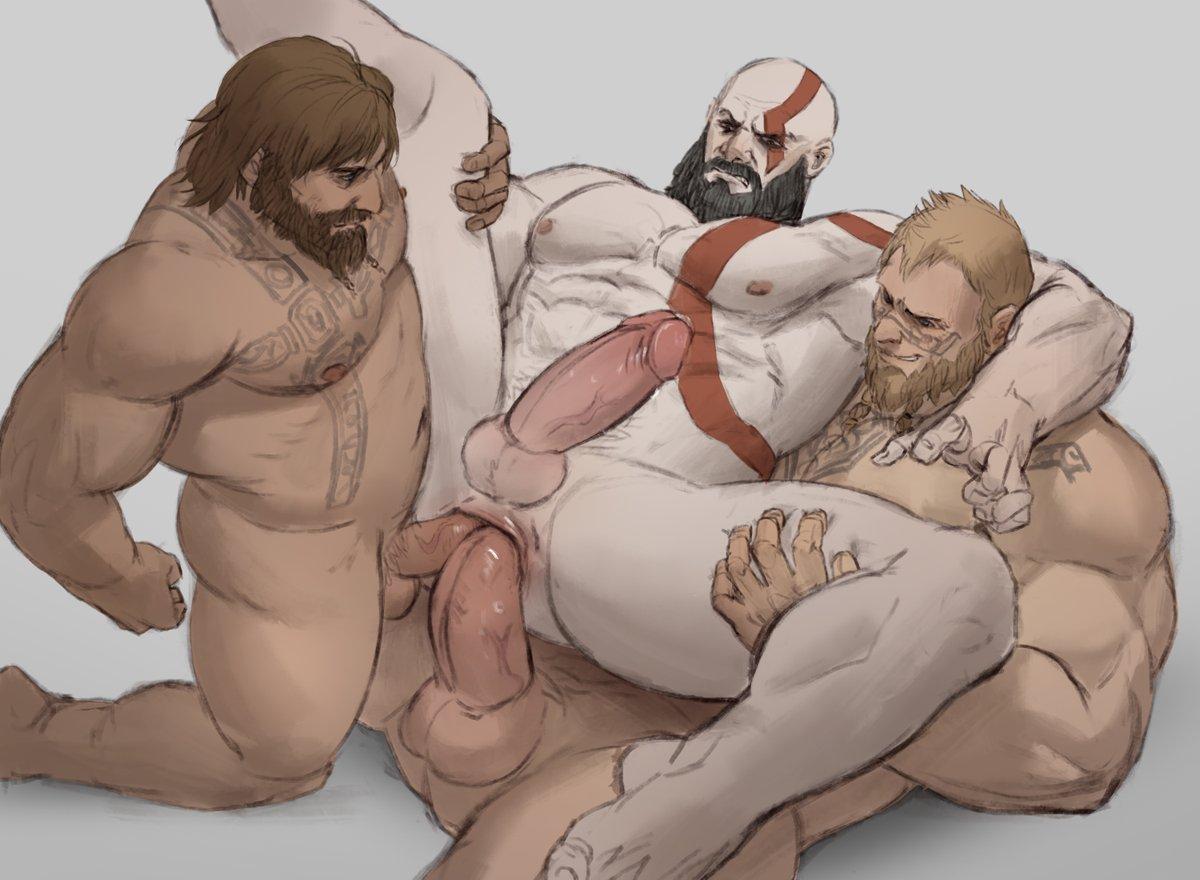 nude god 3 of war Kirin set monster hunter world