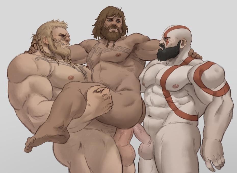 of war nude god 3 Yugioh 5ds leo and luna