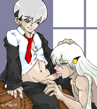in cum mouth gay blowjob Supreme kai of time thicc