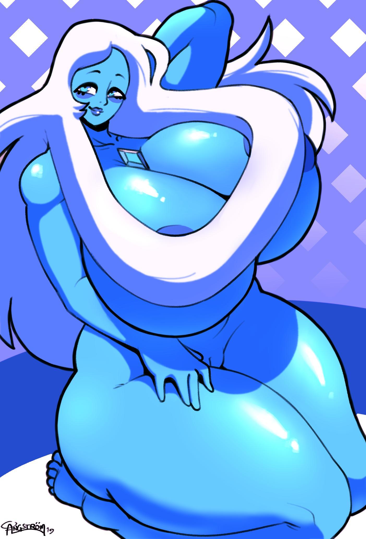 blue universe diamond steven hot Dog days of summer blotch
