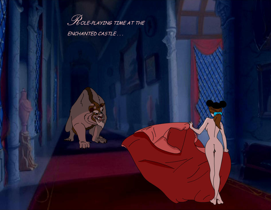 beauty nude and beast the belle Honoo no haramase paidol my?star gakuen z the animation