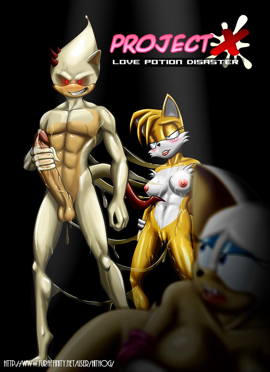 sonic love project x potion My hero academia deku x toga