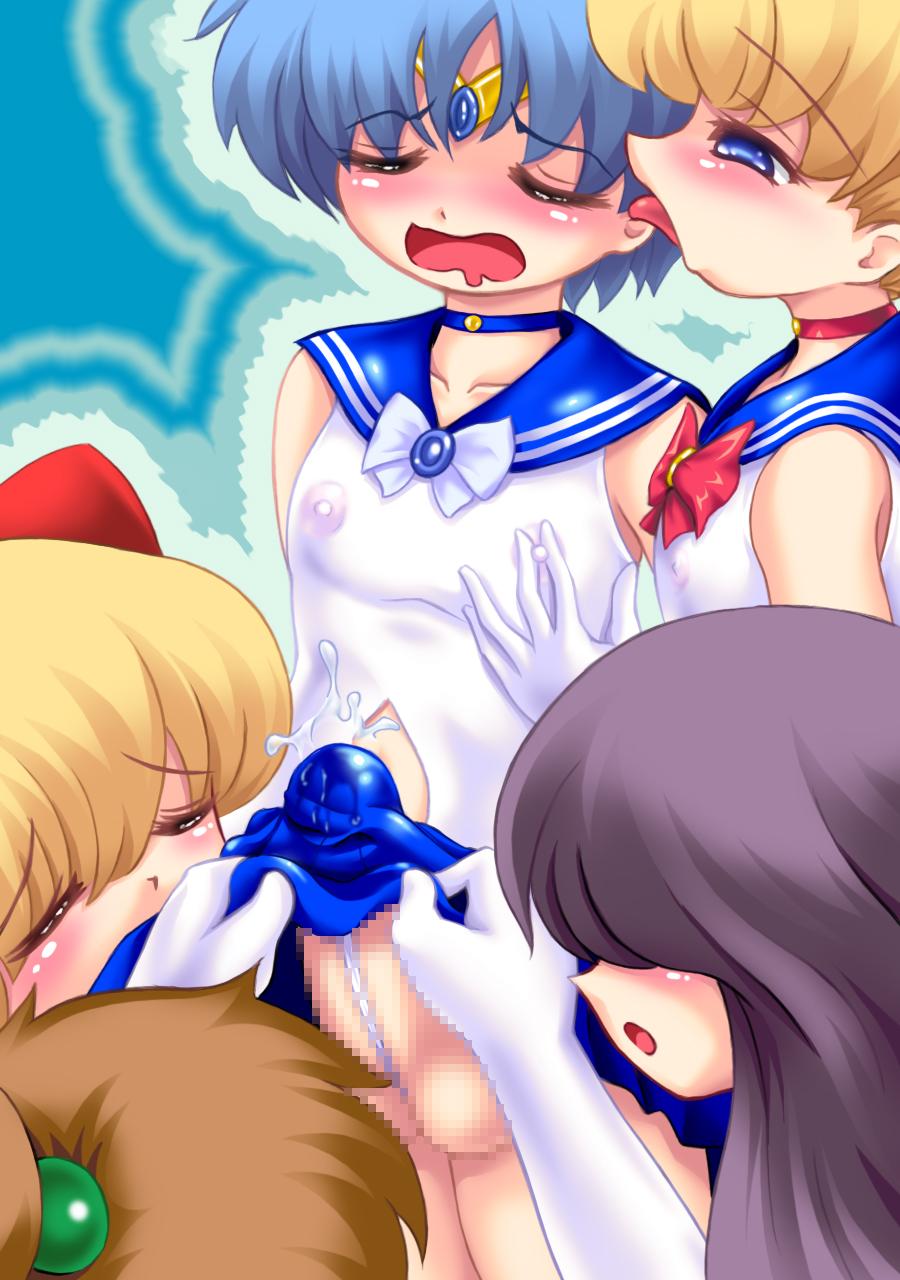 and sailor hentai moon goku Star wars the force awakens naked