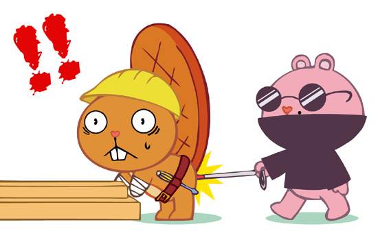 happy house tree friends com How to train your dragon fanfiction crossover