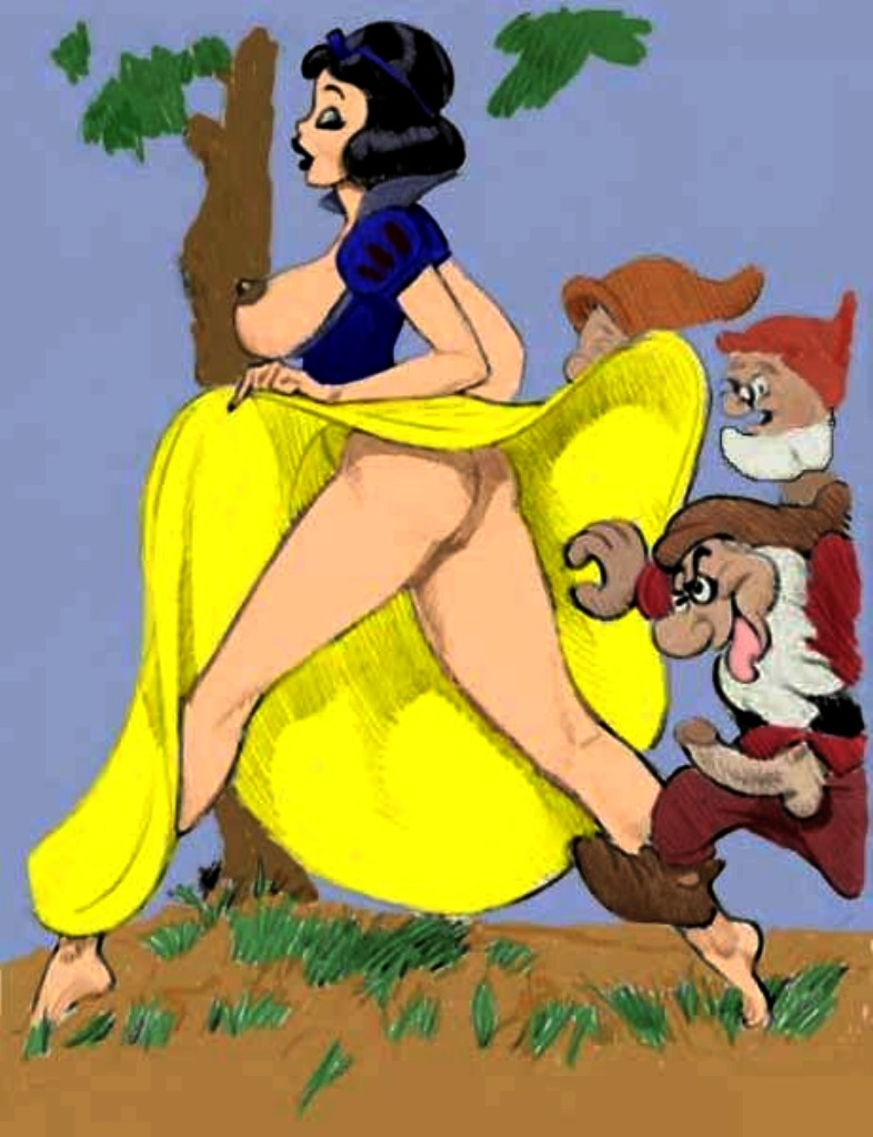 seven dwarfs white the snow and hentai Street fighter cammy porn gif