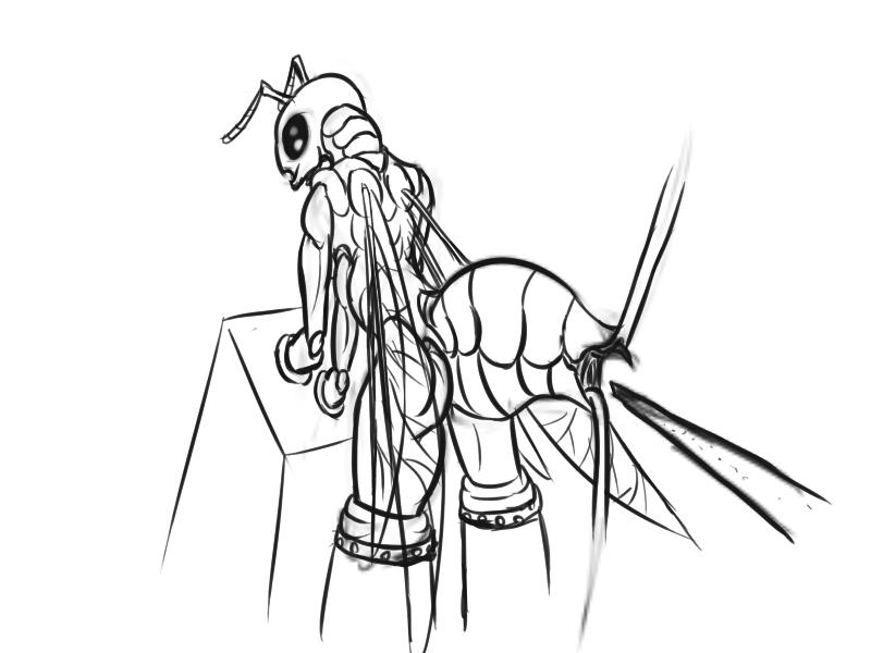 echidna vore queen wars bee Beast boy and terra fanfiction