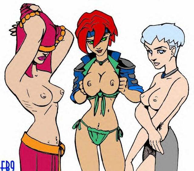 wars star nude characters female Xxx de dragon ball z