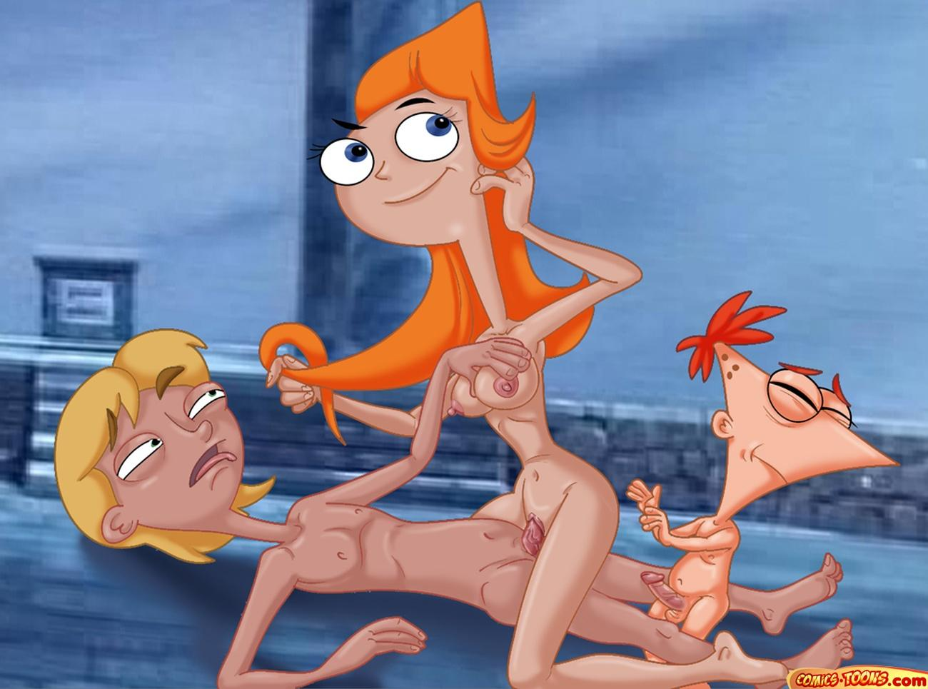 phineas candace ferb naked and Samurai jack and the scotsman