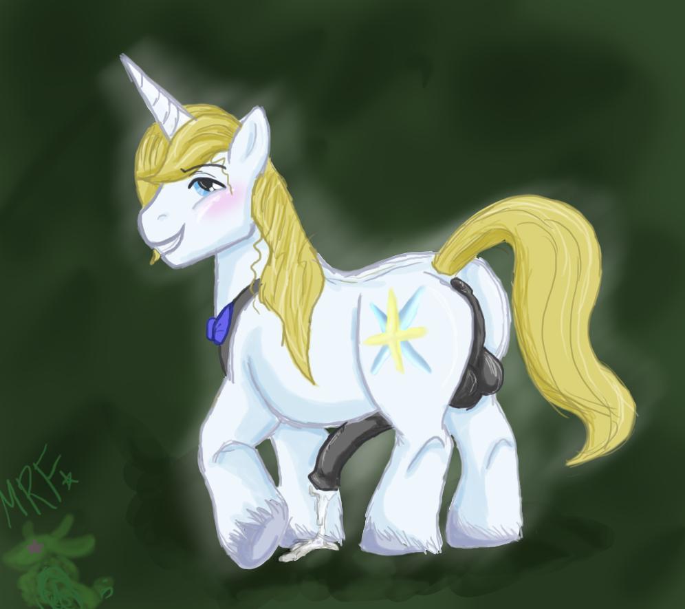 prince blueblood pony my little Attack on titan mikasa ass