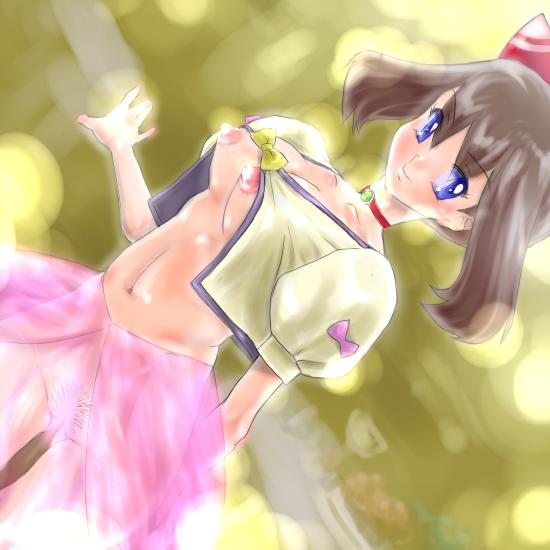 fanart and pokemon moon sun lillie Sinon (sword art online)