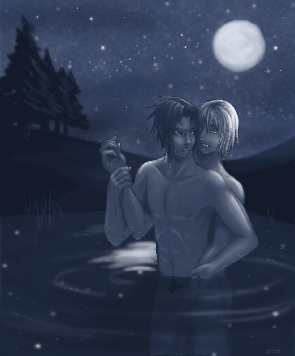 woman evil full moon night Re:zero kara hajimeru isekai seikatsu rem