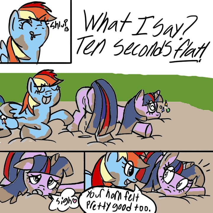soarin mlp dash and rainbow If it's a severed head gif