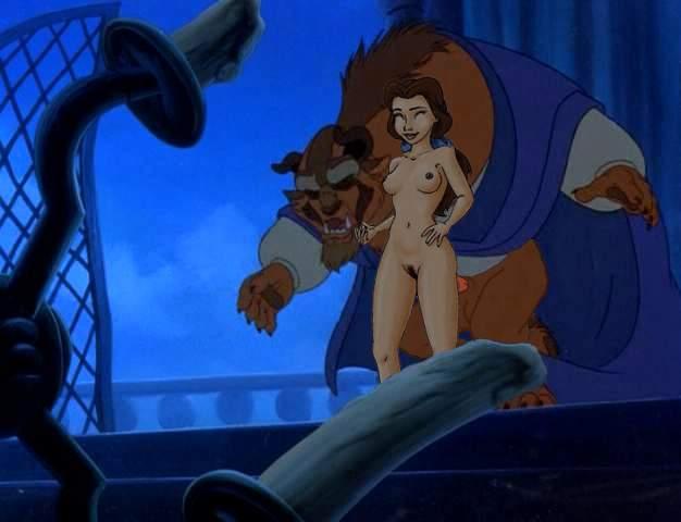 the belle and beast beauty nude Elf wo karu mono-tachi
