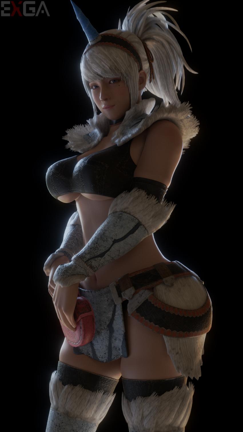 world kirin armor monster hunter female Crystal-for-ever