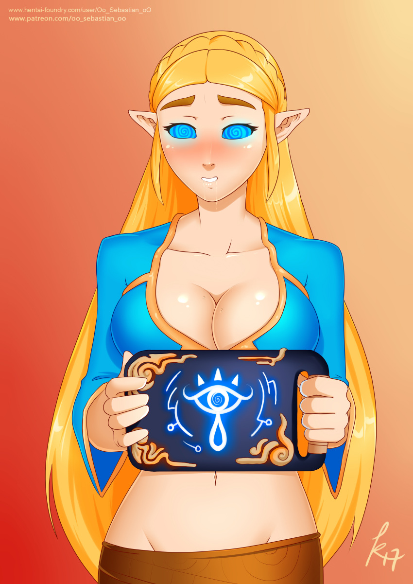 breath the legend kass wild of of the zelda How not to summon a demon lord shera hentai