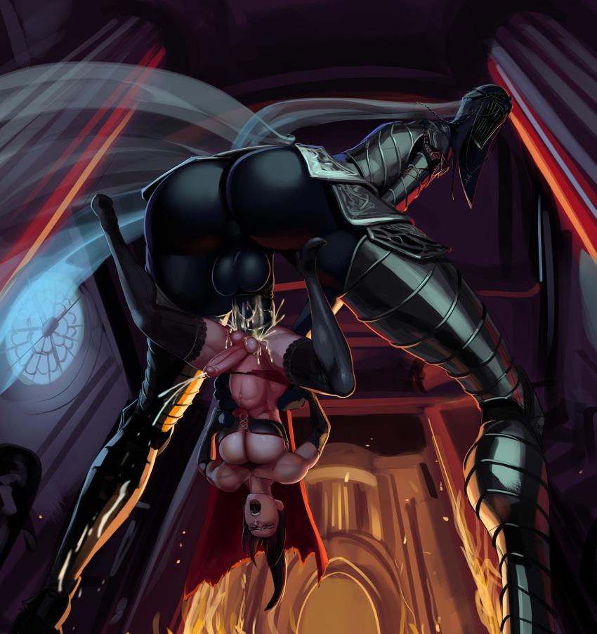 dark 2 souls sorceress rosabeth desert Anime girl in gym uniform