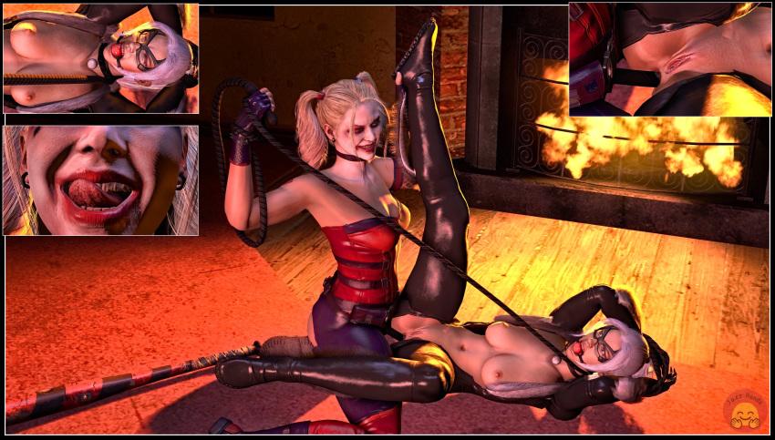 quinn deadpool porn and harley X ray creampie hentai gif