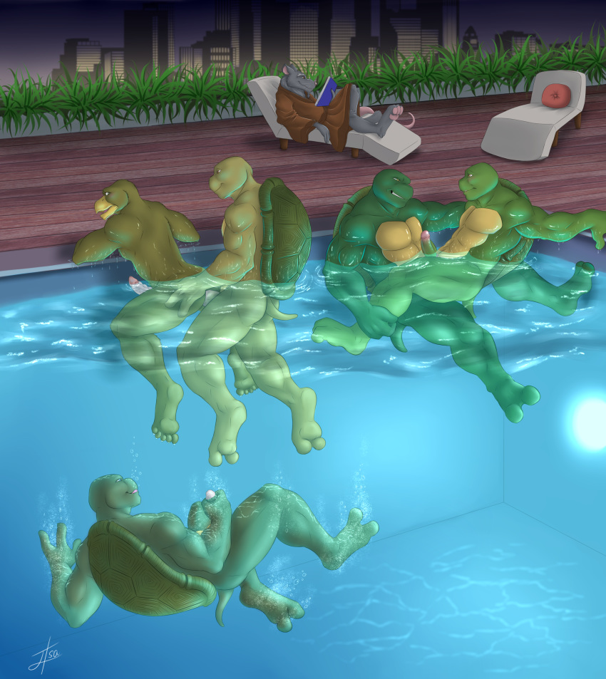 pictures from ninja turtles april of Ero zemi~ecchi ni yaru-ki ni abc~