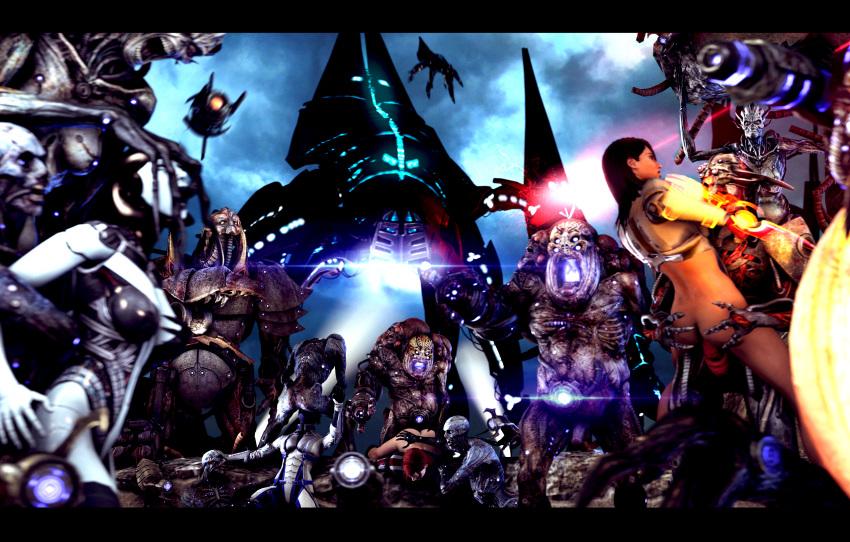 fanfic ben 10 ben mass effect Final fantasy xiv au ra