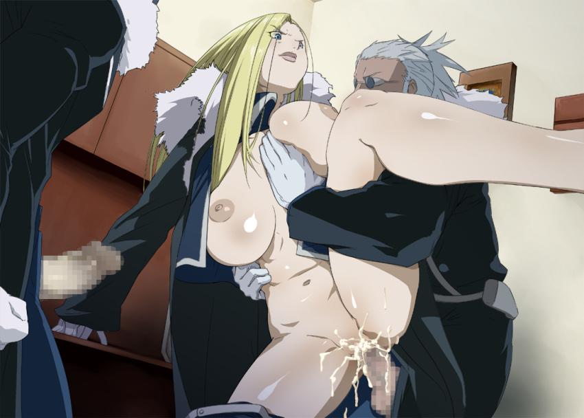 armstrong mira olivier Fela_pure:_mitarashi-san_chi_no_jijou_the_animation