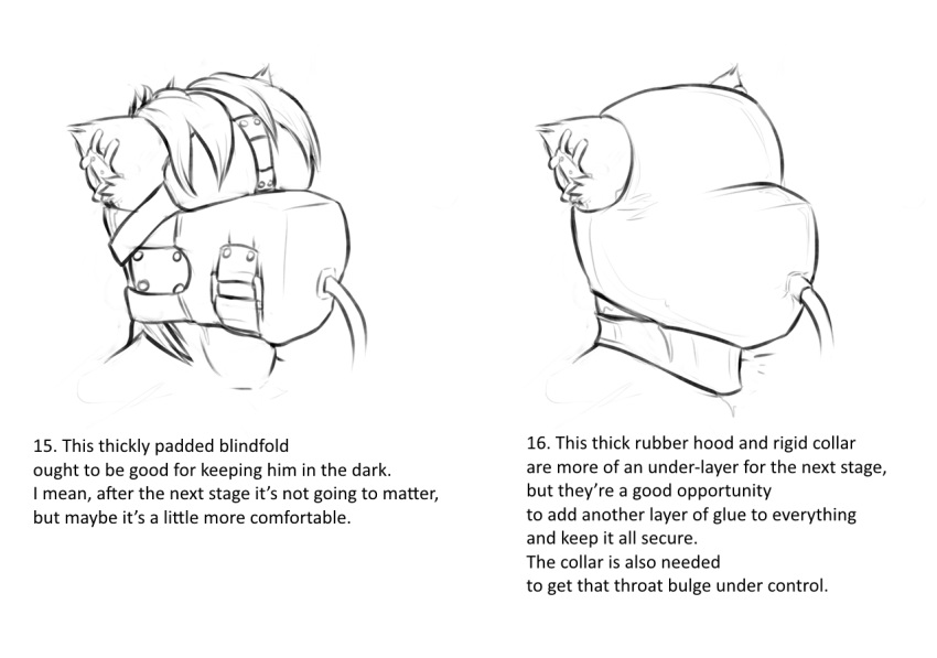 sensory blindfold deprivation bondage gag hentai As told by ginger carl