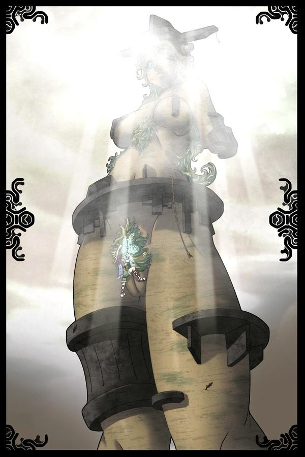 of colossus shadow the Isekai maou to shoukan shoujo