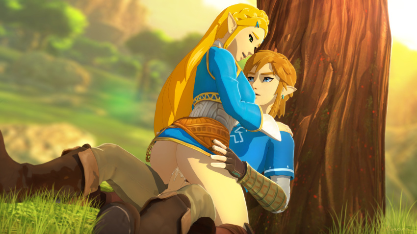 the link breath of wild underwear Brandy and mr whiskers sex
